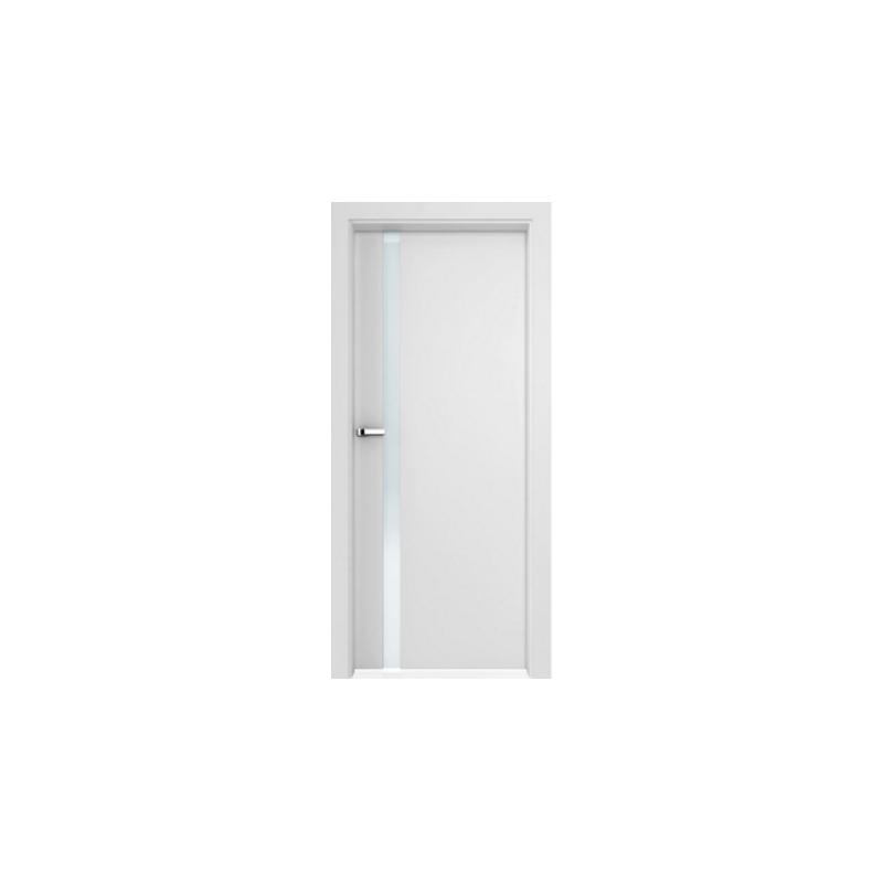 Inter Door Drzwi Bezprzylgowe Lukka Malowane Biale Systemy
