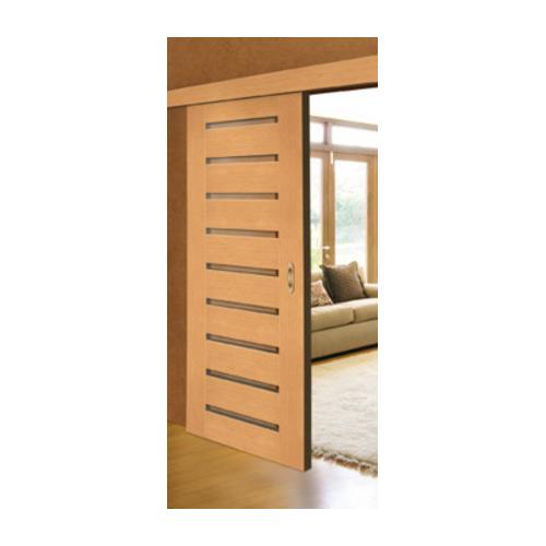 INTER-DOOR System przesuwny naścienny malowany Biały