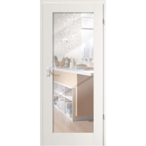 PORTA drzwi przylgowe GRANDE A.1 Lustro