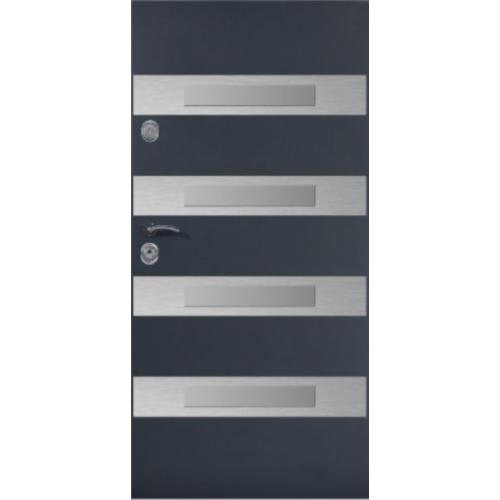 DELTA drzwi UNIVERSAL 56S LINEA'4 PLUS INOX