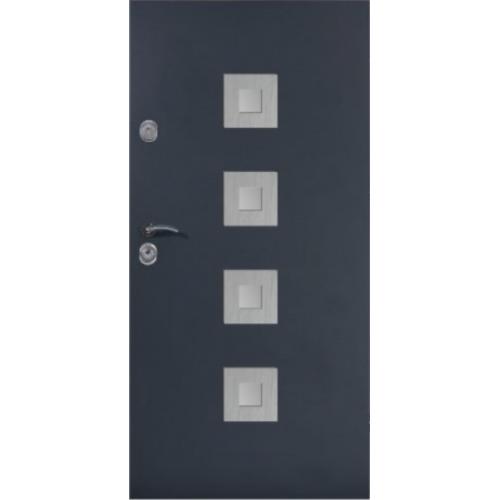 DELTA drzwi UNIVERSAL 56S KWADRAT'4 INOX