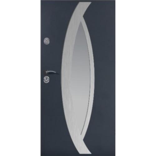 DELTA drzwi UNIVERSAL 56S OCZKO INOX