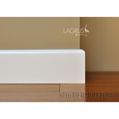 LAGRUS Listwa Przypodłogowa SLIM 80 R10