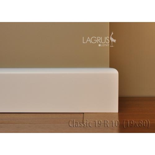 LAGRUS Listwa Przypodłogowa CLASSIC 19 R10 Wilgocioodporna
