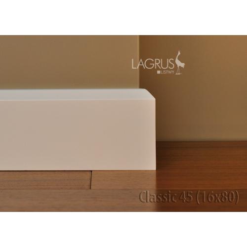 LAGRUS Listwa Przypodłogowa CLASSIC 45 Wilgocioodporna