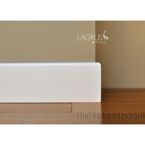 LAGRUS Listwa Przypodłogowa Slim 80 R5 Wilgocioodporna