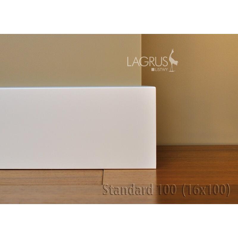LAGRUS Listwa Przypodłogowa Standard 100 Wilgocioodporna