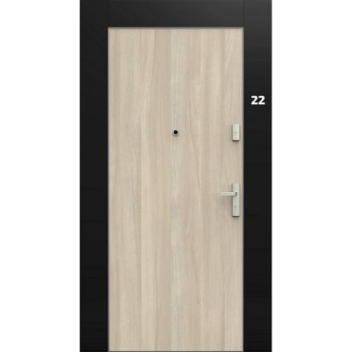ENTRA drzwi wejściowe GRADARA HIGHLINE