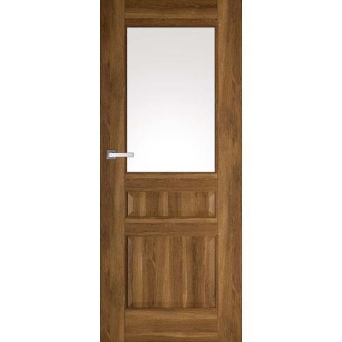 DRE drzwi przylgowe NESTOR 6 z klamką MONDO