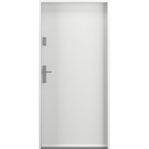 PORTA drzwi wejściowe STEEL SAFE RAL 9003