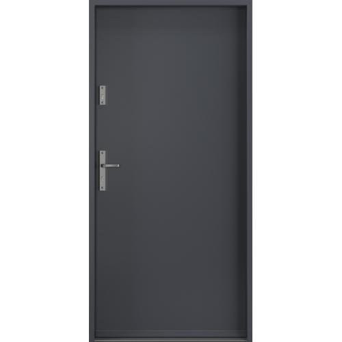 PORTA drzwi wejściowe STEEL SAFE Antracyt RAL 7024