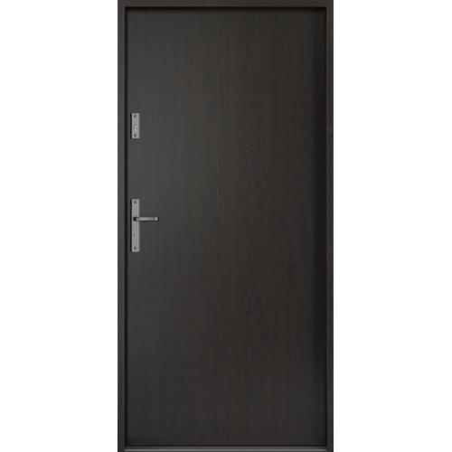 PORTA drzwi wejściowe STEEL SAFE Dąb Bagienny