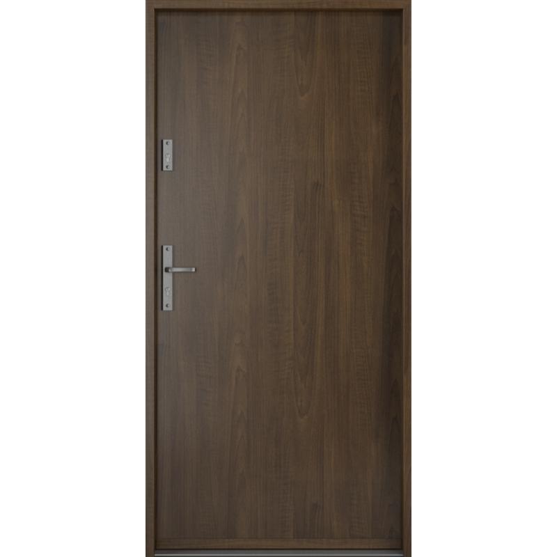 PORTA drzwi wejściowe STEEL SAFE Orzech