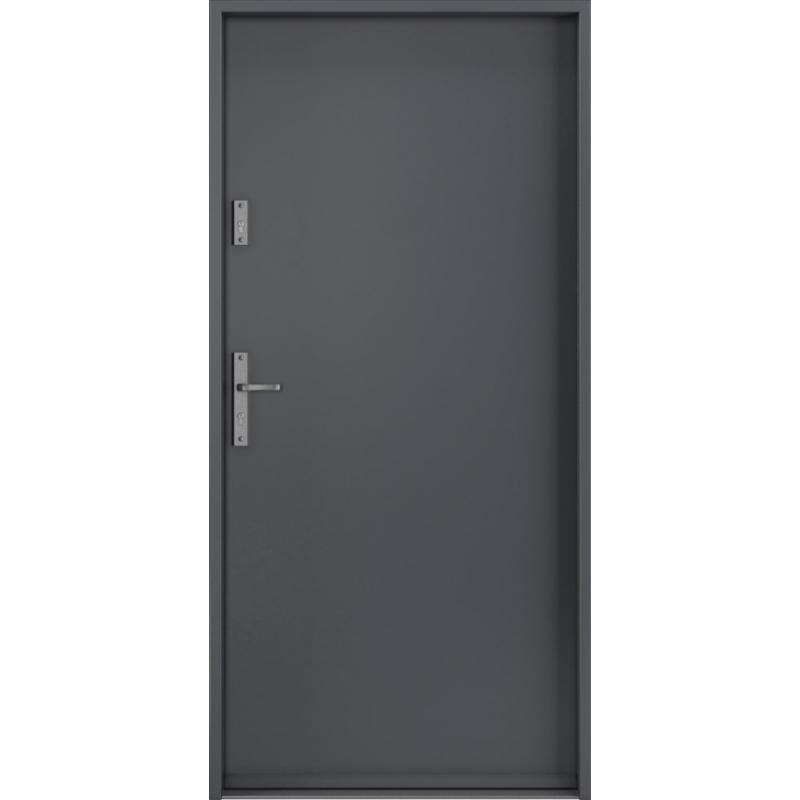 Porta Drzwi Wejsciowe Rc2 Steel Safe Antracyt Systemy Przesuwne