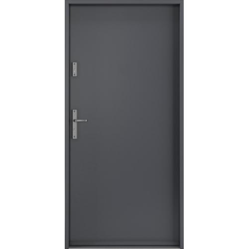 PORTA drzwi wejściowe STEEL SAFE Antracyt
