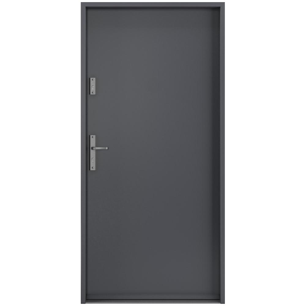 Porta Drzwi Wejściowe Rc2 Steel Safe Antracyt Systemy Przesuwne Drzwi Wewnętrzne Drzwi Zewnętrzne