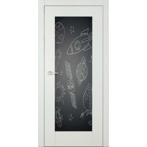 ASILO drzwi bezprzylgowe COLOMBO 6 TABLICA KREDOWA