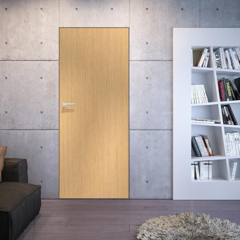 Nowość ASILO drzwi z ukrytą ościeżnicą LINATE 1 DISCRET - Systemy JJ94