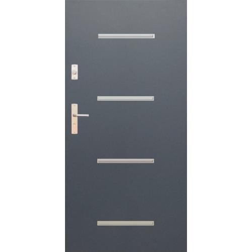WIKĘD drzwi TERMO PRESTIGE LUX FUTURE INOX FI09A