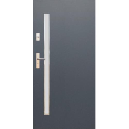 WIKĘD drzwi TERMO PRESTIGE LUX FUTURE INOX FI10A