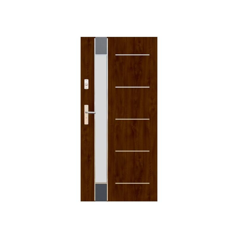 WIKĘD drzwi TERMO PRESTIGE LUX FUTURE INOX FI06F