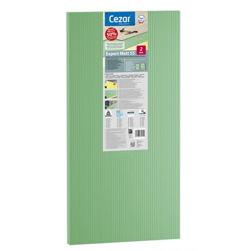 CEZAR EXPERT 55 podkład zielony pod panele podłogowe 2,0 mm