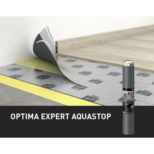 Decora optima expert aquastop 2 mm x 1 m x 10 m podkład pod panele