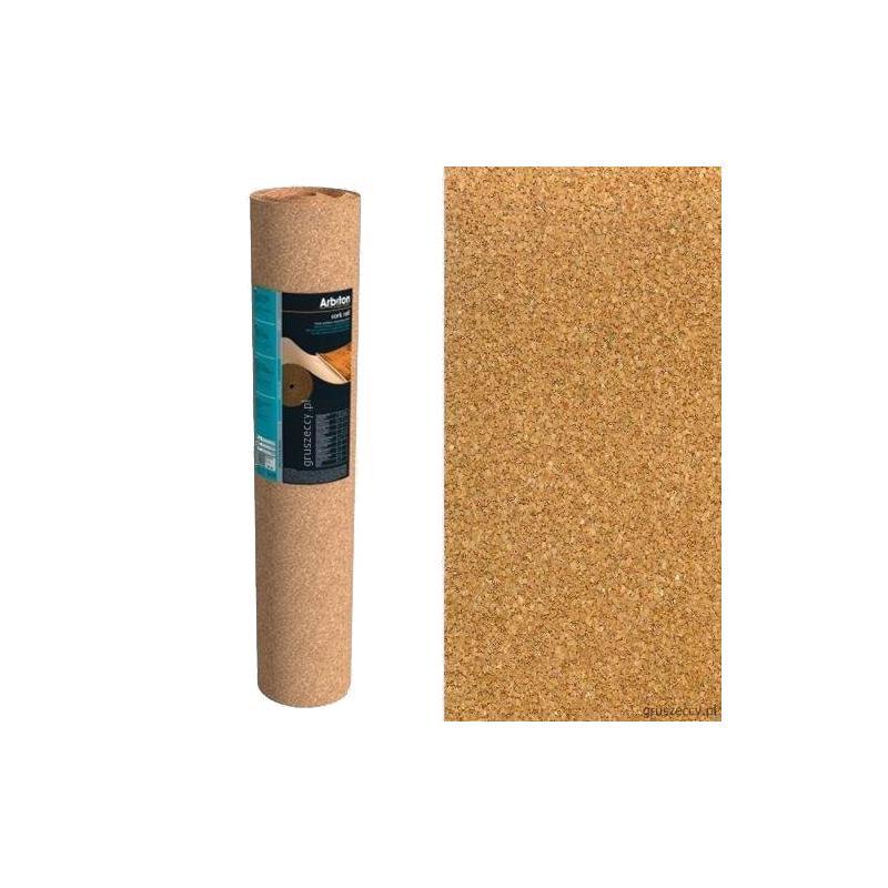 podkład korkowy cork system 1,8 mm x 10 mb x 1 m