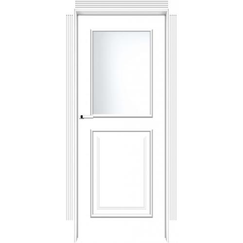 INTER-DOOR drzwi przylgowe FRESA 2 MR MALOWANE KOLOR