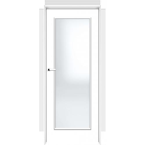 INTER-DOOR drzwi przylgowe FRESA 1 DR MALOWANE KOLOR