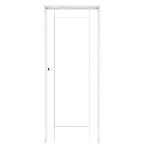 INTER-DOOR drzwi przylgowe LOGGIA PEŁNE MALOWANE KOLOR