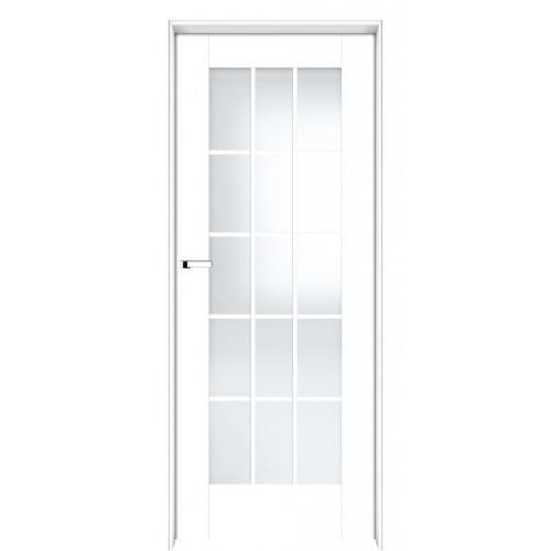 INTER-DOOR drzwi przylgowe LOGGIA DS MALOWANE KOLOR