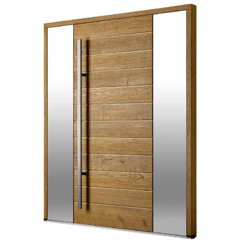 DOORSY drzwi dębowe TermoPlus+ VINTAGE OAK 16 ZE WSTAWKAMI