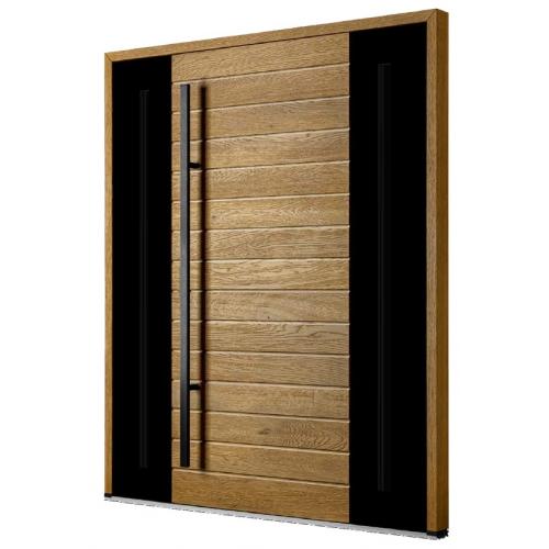 DOORSY drzwi dębowe TermoPlus+ VINTAGE OAK 13 ZE WSTAWKAMI