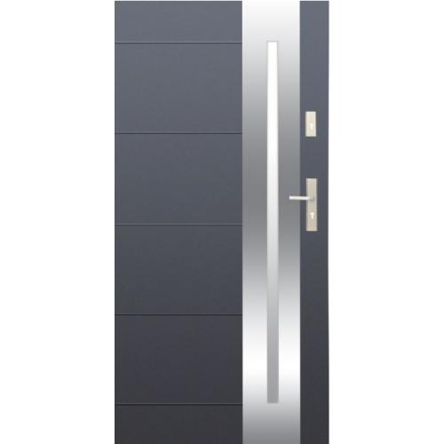 WIKĘD drzwi OPTIMUM wzór 26 INOX