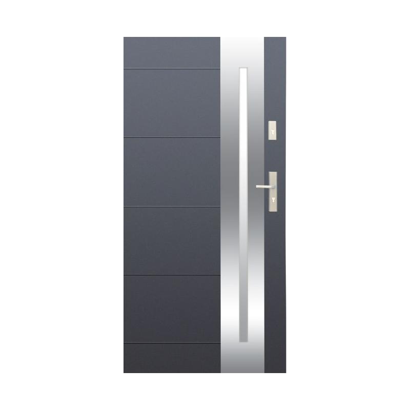 WIKĘD drzwi OPTIMUM wzór 26 INOX OD RĘKI