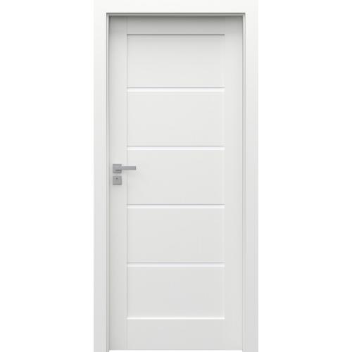 PORTA drzwi z odwrotną przylgą GRANDE UV G.0