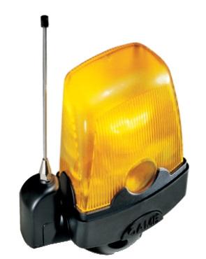 Lampa ostrzegawcza LED zasilana 120-230 V A.C.